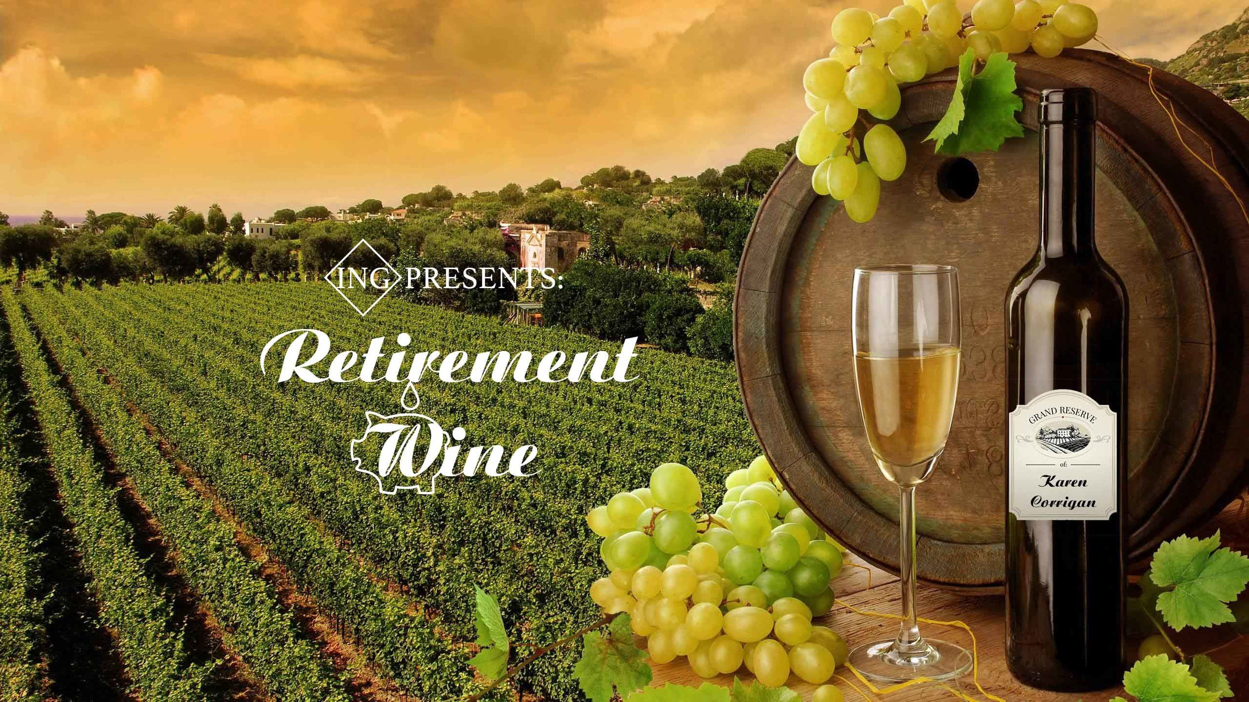 �Retirement Wine - activation