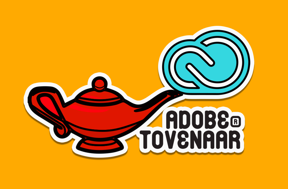 The Adobe™ Genie lamp, signals people you 'know your onions'. Just like that, you became a help desk.