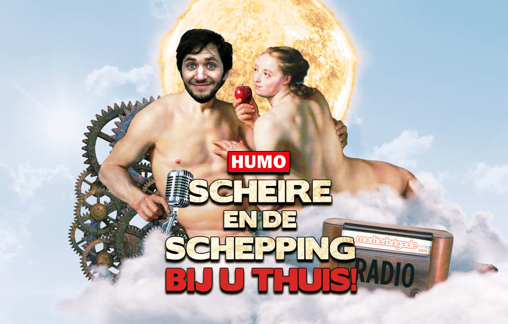 Experimental💉Radio - We experimented on Lieven Scheire (a popularscience/nerd-culture tv-maker) to sell more Humos. Radio for Humo magazine - Mortierbrigade 2014