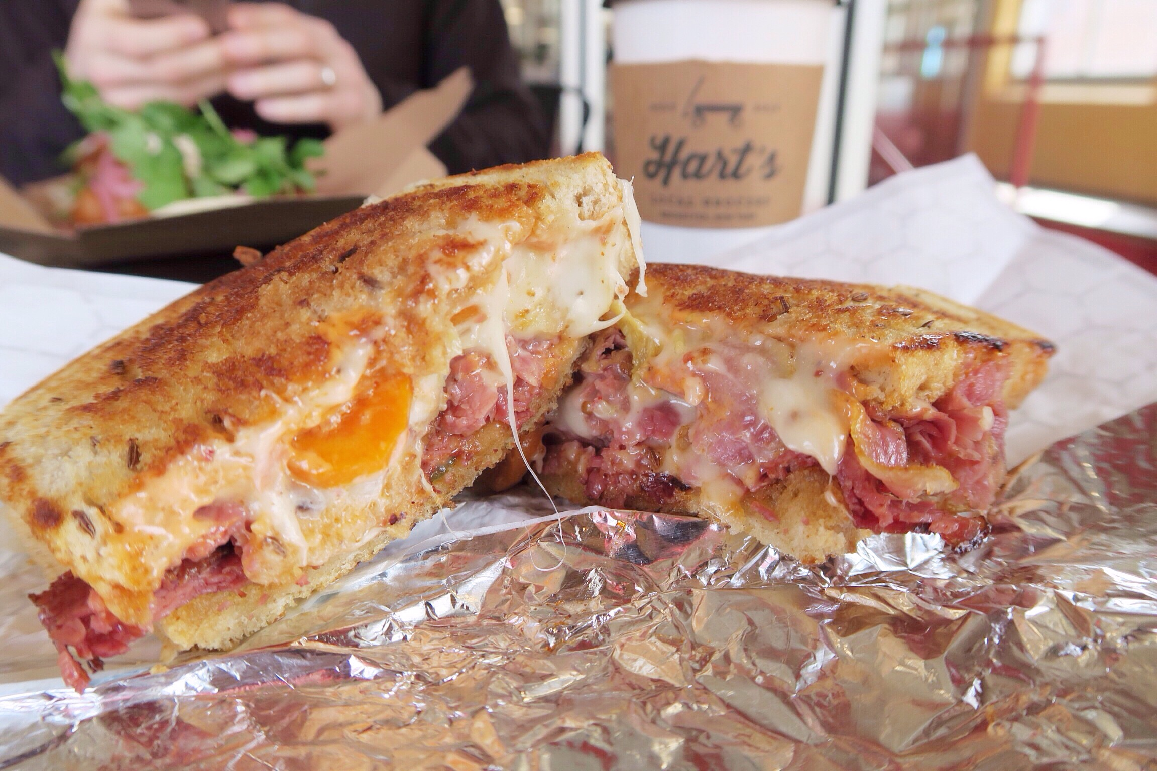 I want a Kimchee Reuben in my life. Right now.