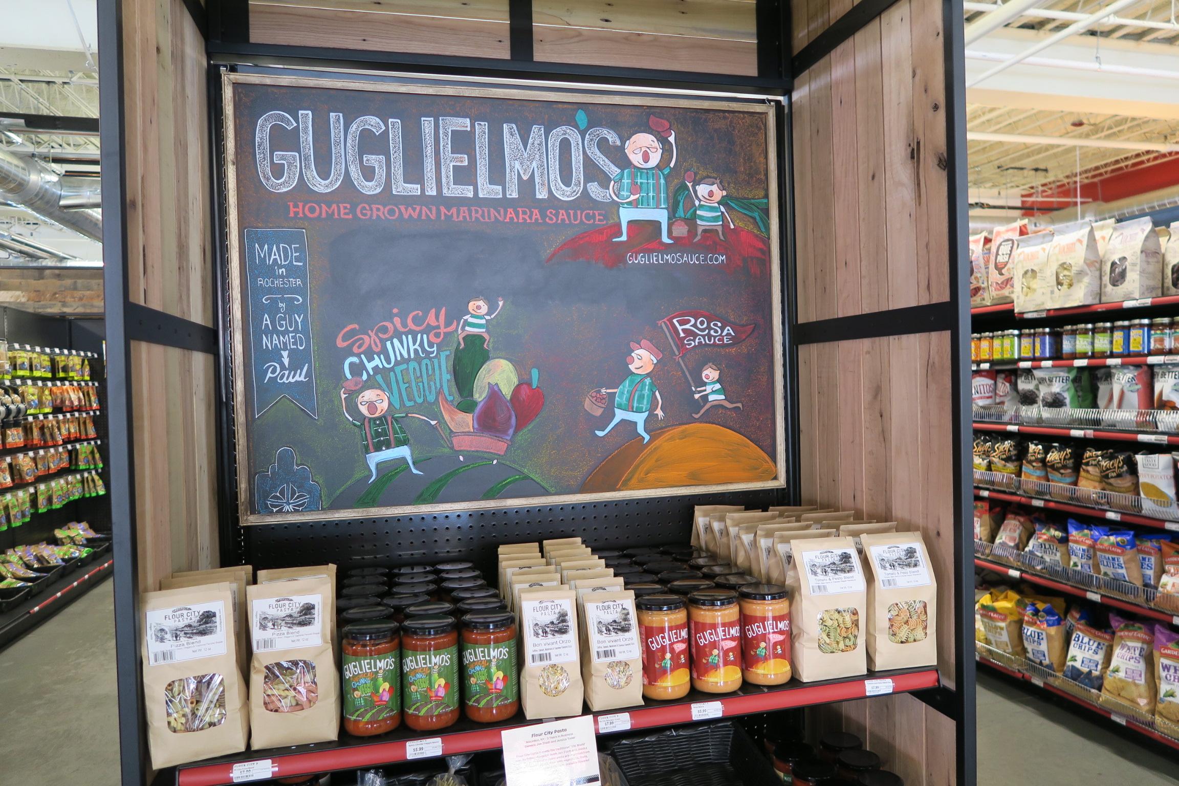 Guglielmo's Homegrown Marinara Sauce.