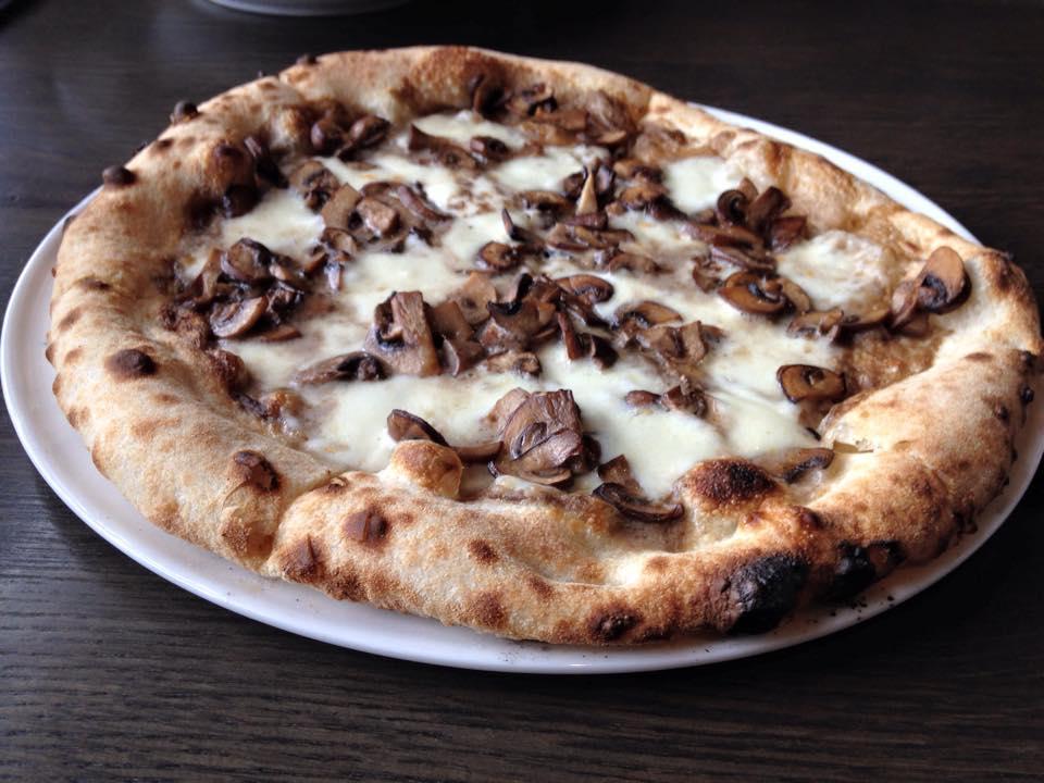 Tartufata Pizza at Branca