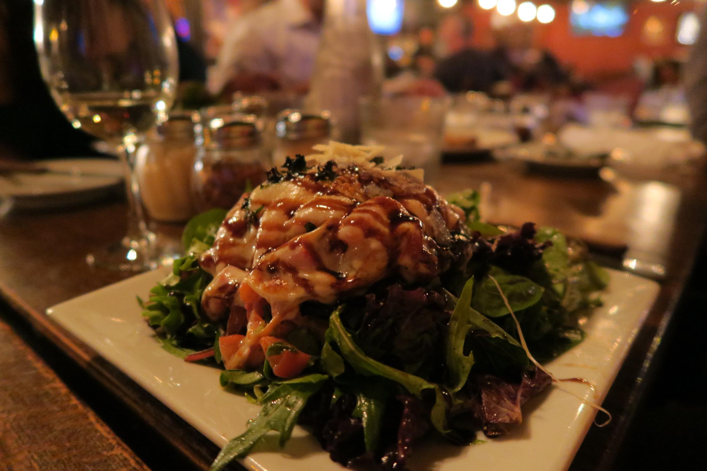 Portobello Caprese Salad at Fiamma