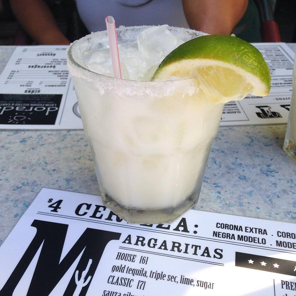 Pair your sandwich with a refreshing Coconut Margarita!