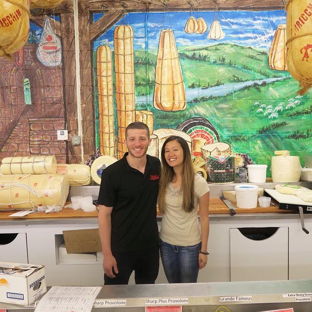 Meet Mike Roberti, Peter Rubino's grandson from Rubino's Italian Food - Main Store!