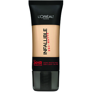Medium to high coverage foundation. VERY Matte finish, can be used alone or beneath powder.   $10.42