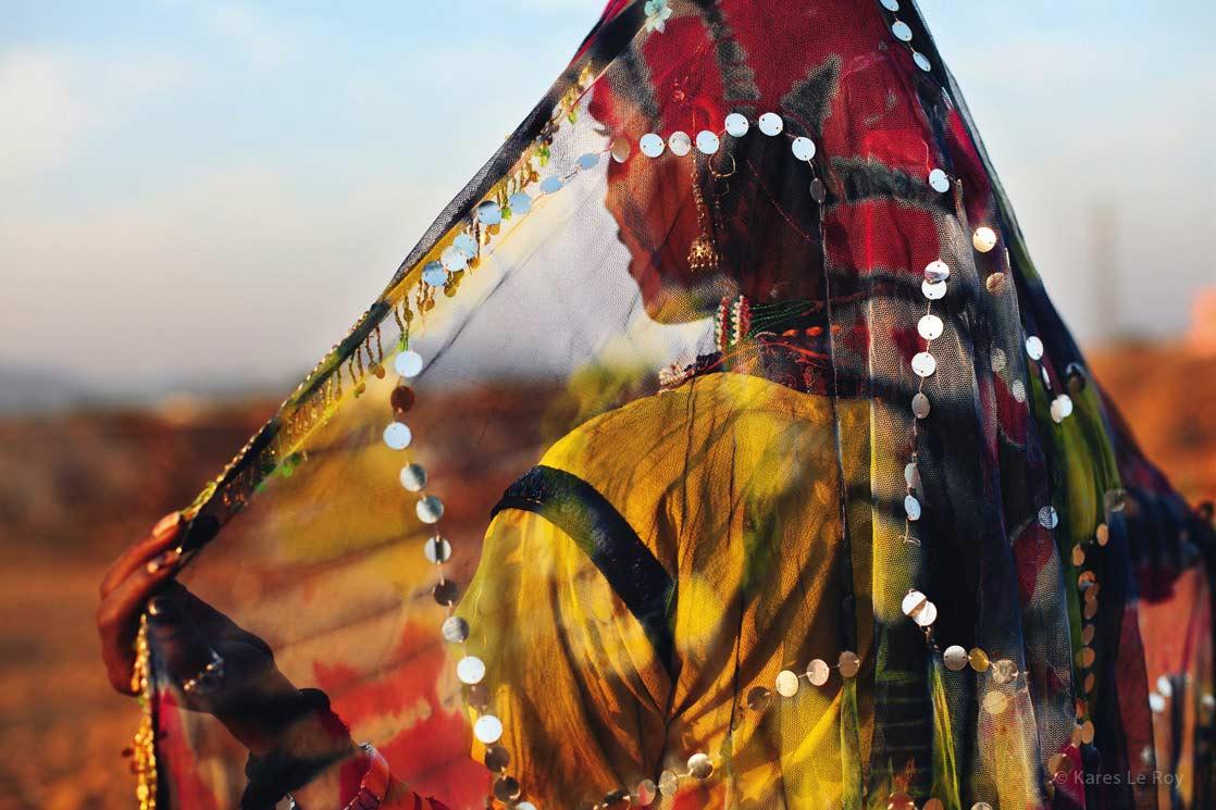 Rajasthani gypsy dancer  /  Danseuse gitane du Rajasthan | INDIA