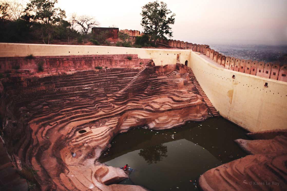 The washhouse of Jaipur in Rajasthan  /  Le lavoir de Jaïpur au Rajasthan | INDIA