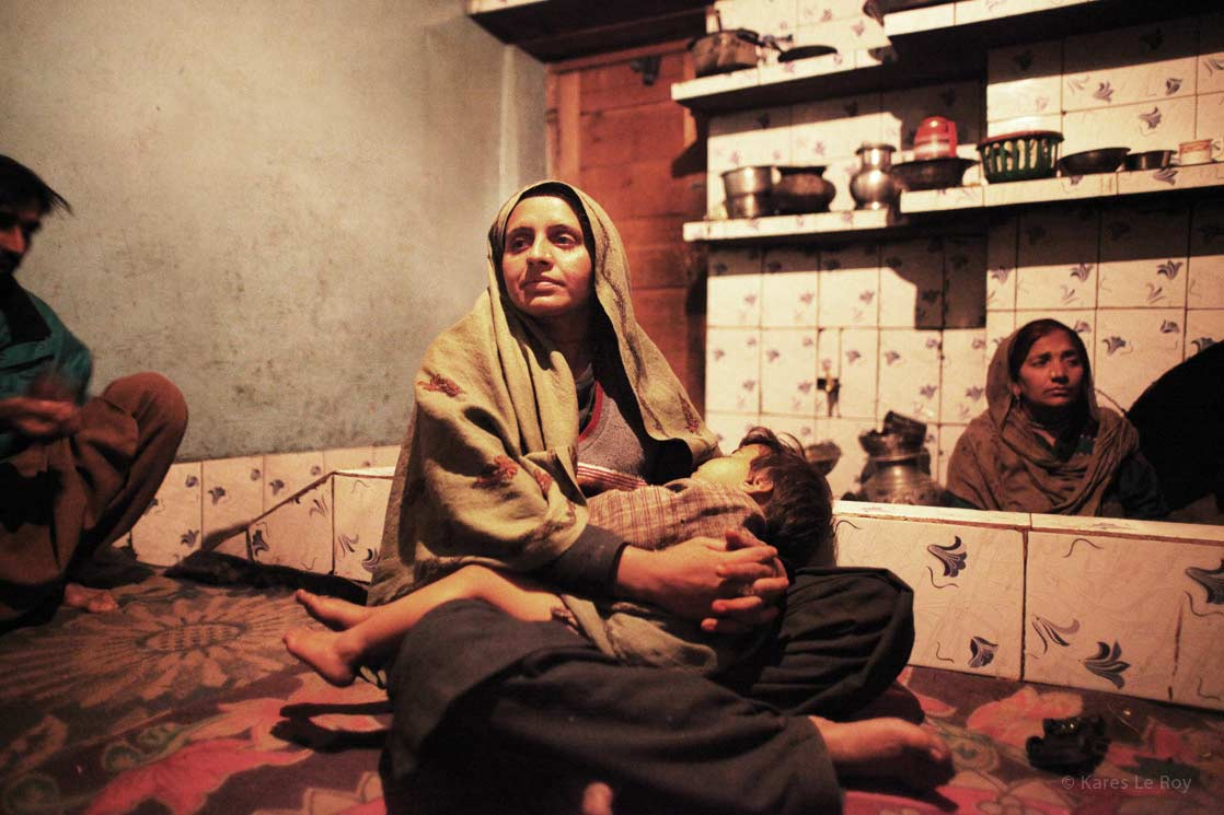 Madonna from Kashmir /  La Madone du Cachemire  | INDIA