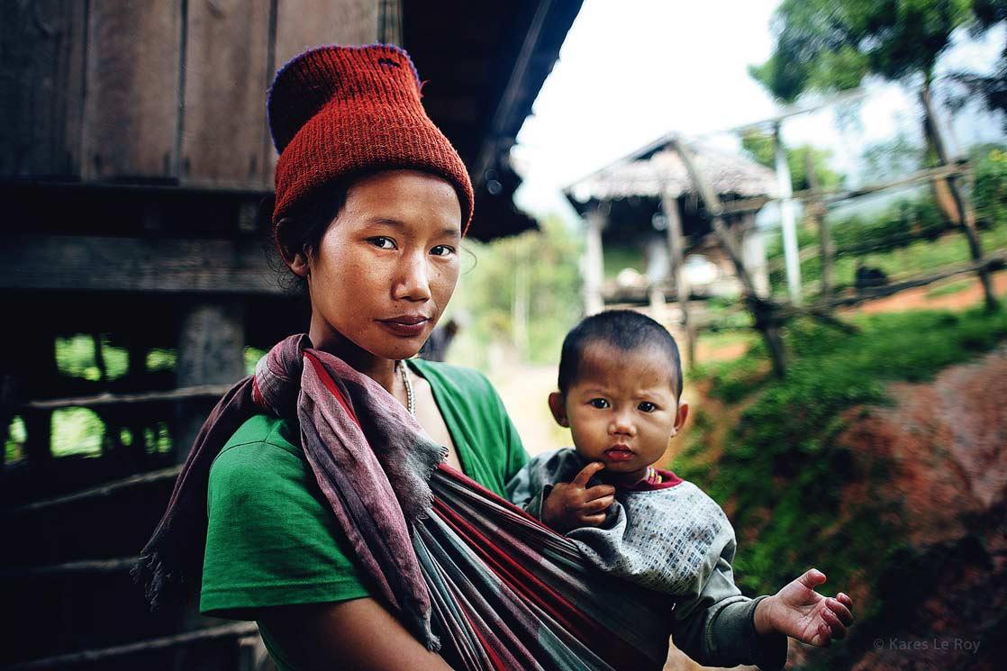 Karen tribe of north  /  Tribu Karen du Nord du pays | THAILAND