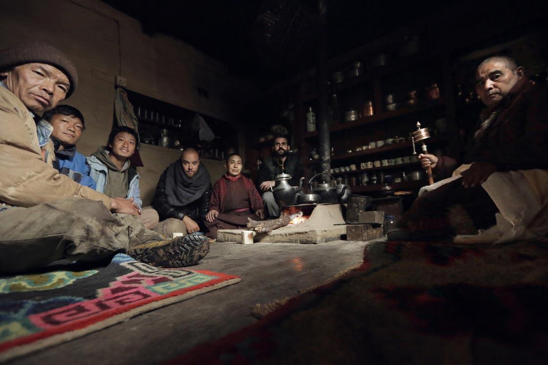 Tamrang monastery /  Au monastère de Tamrang