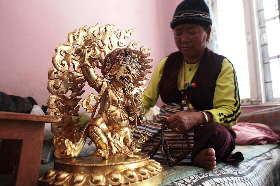 Varappent and the daughter /  Vajrapani et la fille de Bajay