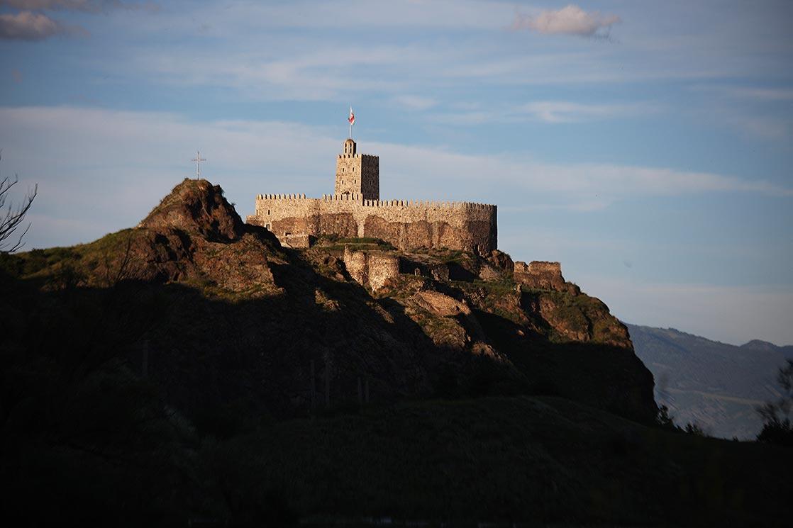 Khertvisi Fortress in Akhaltsikhewas built around the thirteenth-fourteenth centuries, and saw fighting during the Ottoman invasion|GEORGIA