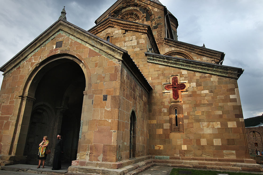 Svetitskhoveli Cathedral (11th century) in Mtskheta are amongst the most significant monuments of Georgian Christian architecture, and are historically significant in the development of medieval architecture throughout theCaucasus.