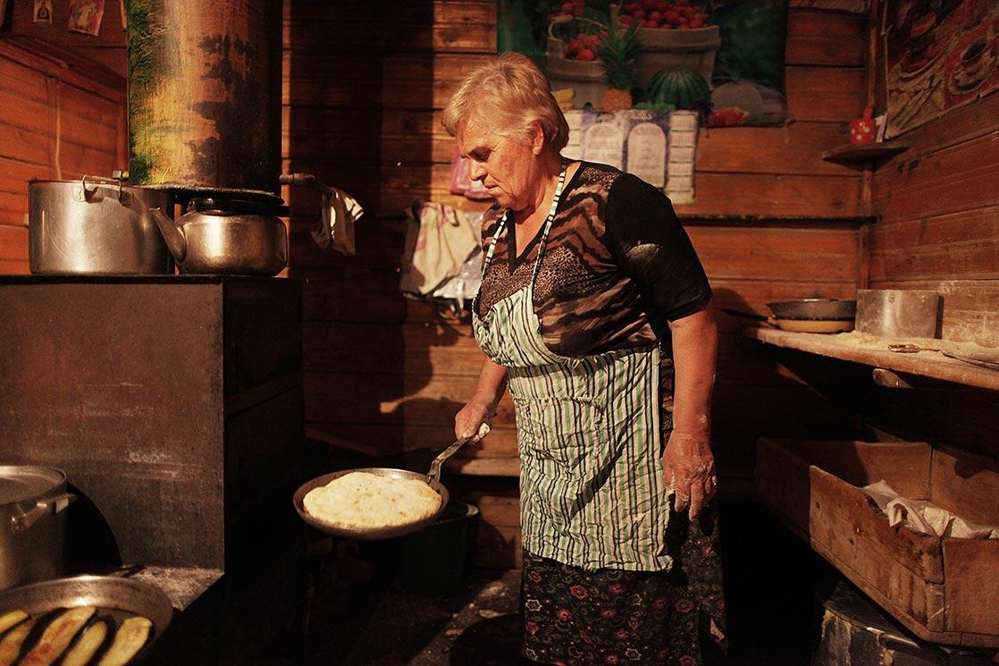 Preparation of  Khachapuri, traditionalGeorgiandish of cheese-filled bread| GEORGIA