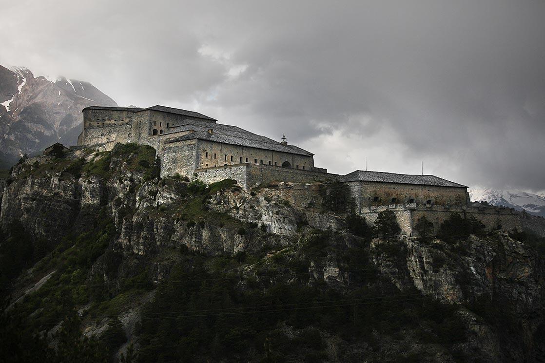 Esseillon fortress  of XIXe century in Savoie  FRANCE