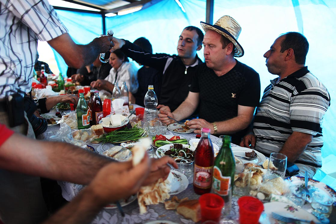 Armenian brunch