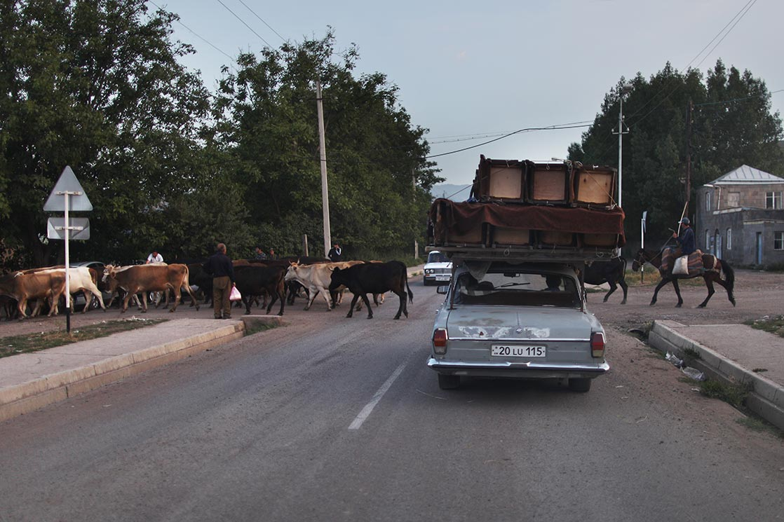 On the road to  Tatev