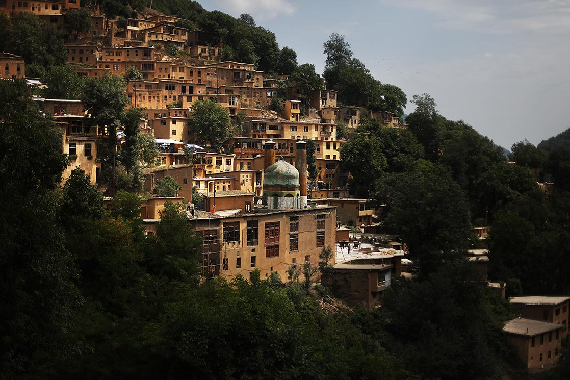 A view of  Masuleh , a village founded in the 10th century | IRAN