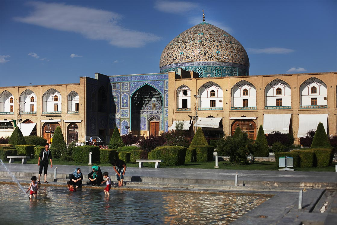Isfahan  was once one of the largest cities in the world. It flourished from 1050 to 1722, particularly in the 16th century under the Safavid dynasty, when it became the capital of Persia |  Naqsh-e Jahan Imam square  | IRAN