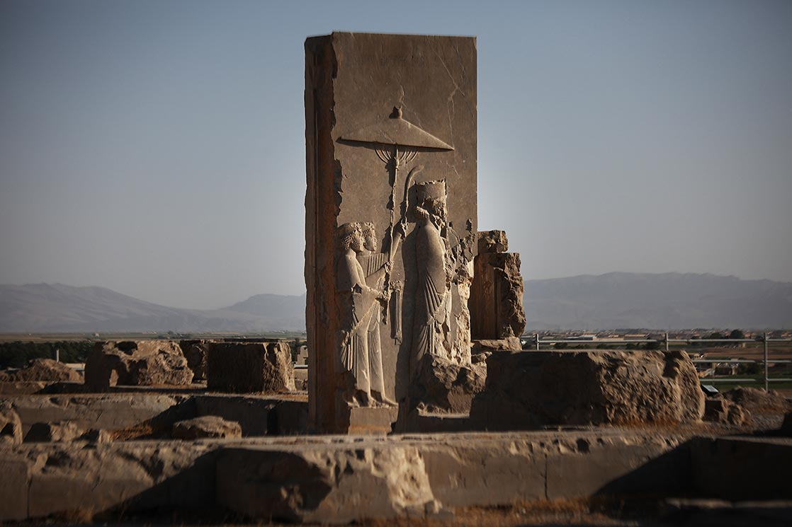 The earliest remains of  Persepolis  date from around 515 BC. It exemplifies the Achaemenid style of architecture. UNESCO declared the citadel of Persepolis a World Heritage Site in 1979 | IRAN