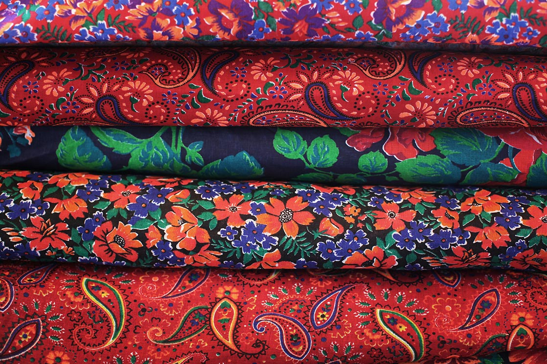 Patterns of mattress in  Samarkand bazaar   | UZBEKISTAN