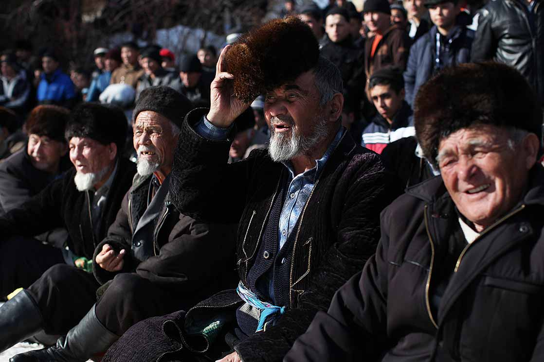 Throughout the day, the public will be able to admire wrestling | KYRGYZSTAN