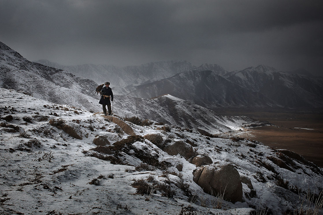 Hunting scenes during winter /  Scène de chasse durant l'hiver | KYRGYZSTAN