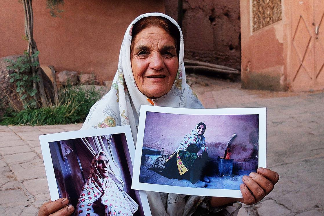 Dans les rues d'Abyaneh | IRAN