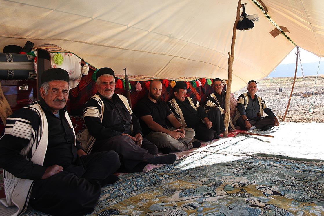 Campement d'une tribu Bakhtiari | IRAN