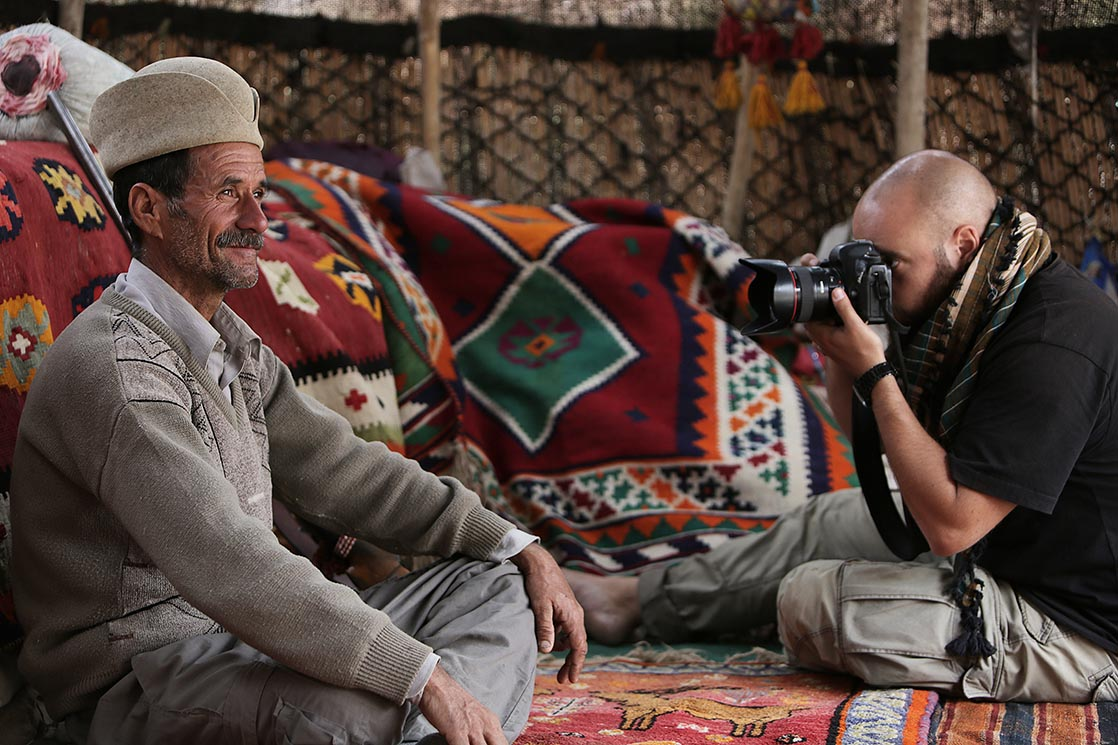 Under a tent of Qashqai nomads | IRAN /  Sous une tente de nomades Qashqais | IRAN