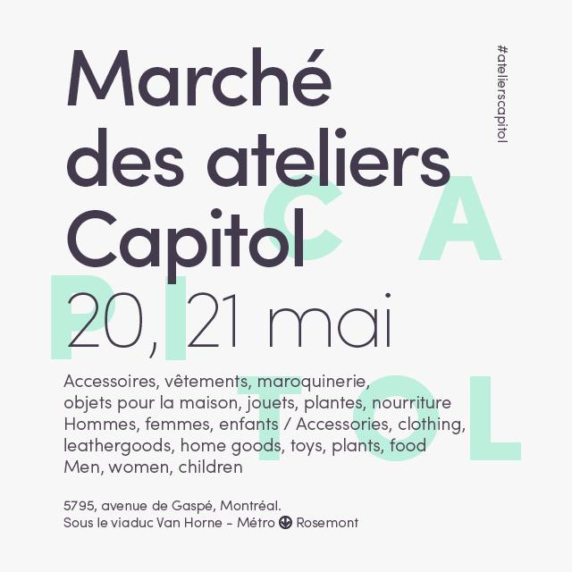 Marché des ateliers Capitol