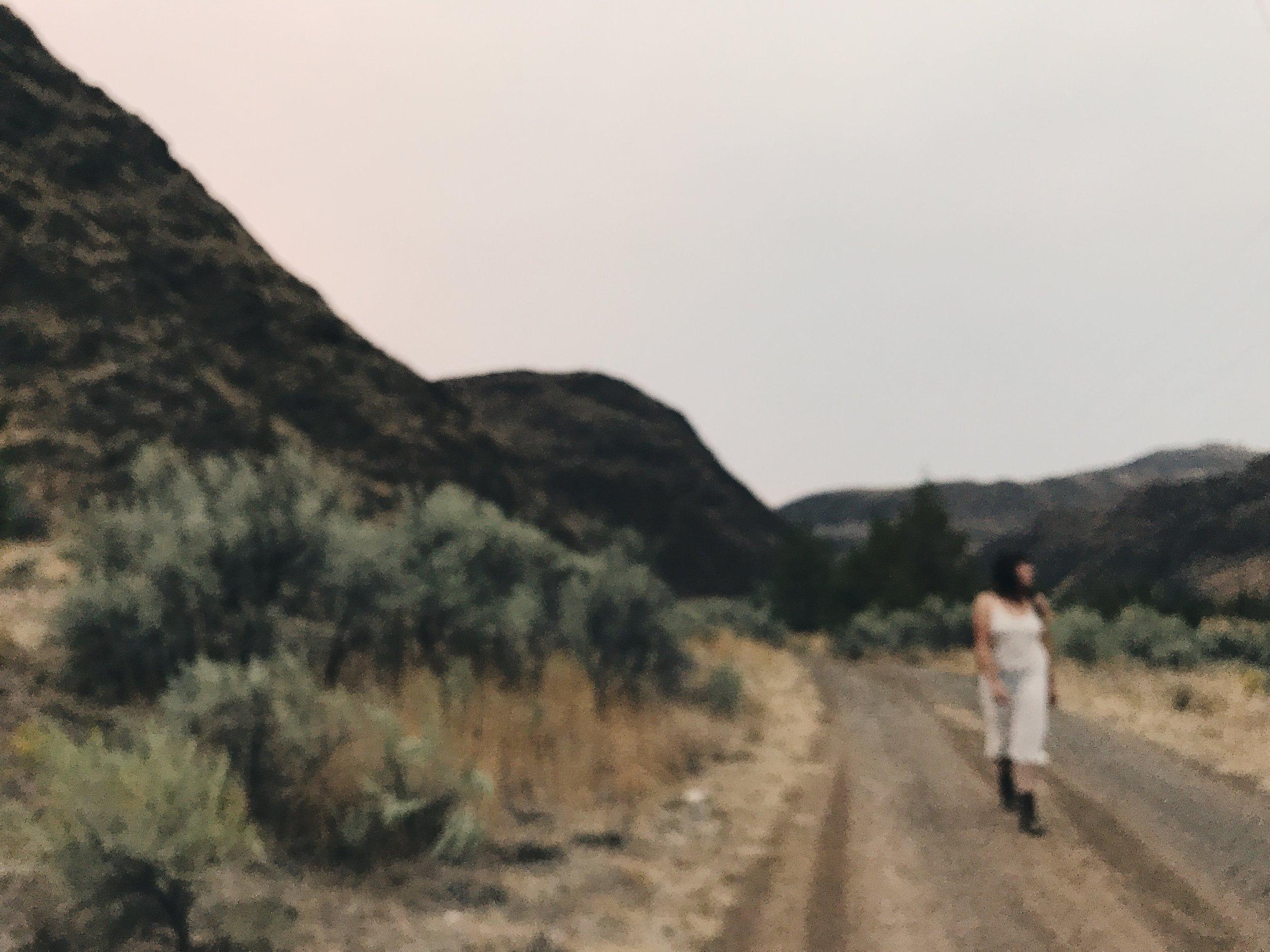 Montana Merida in the desert in Central Oregon- September 2017