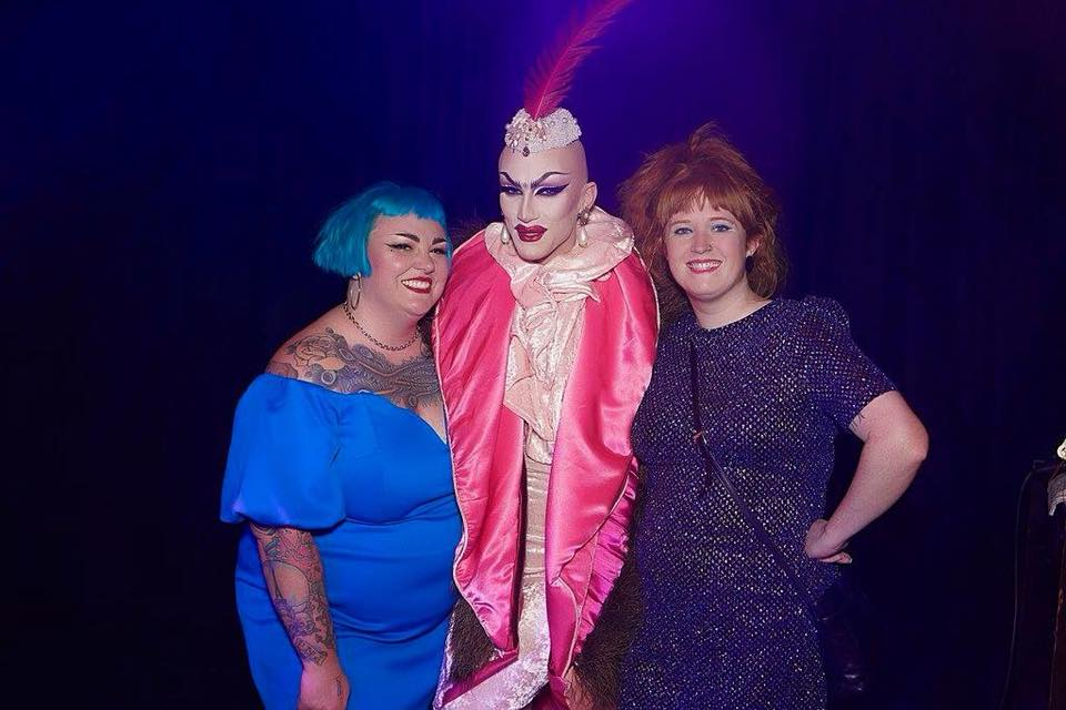 My bestie Yvonne (lives in the NL who I will talk about again in part 4) and I meeting one of my major Drag idols- Sasha Velour in Amsterdam.