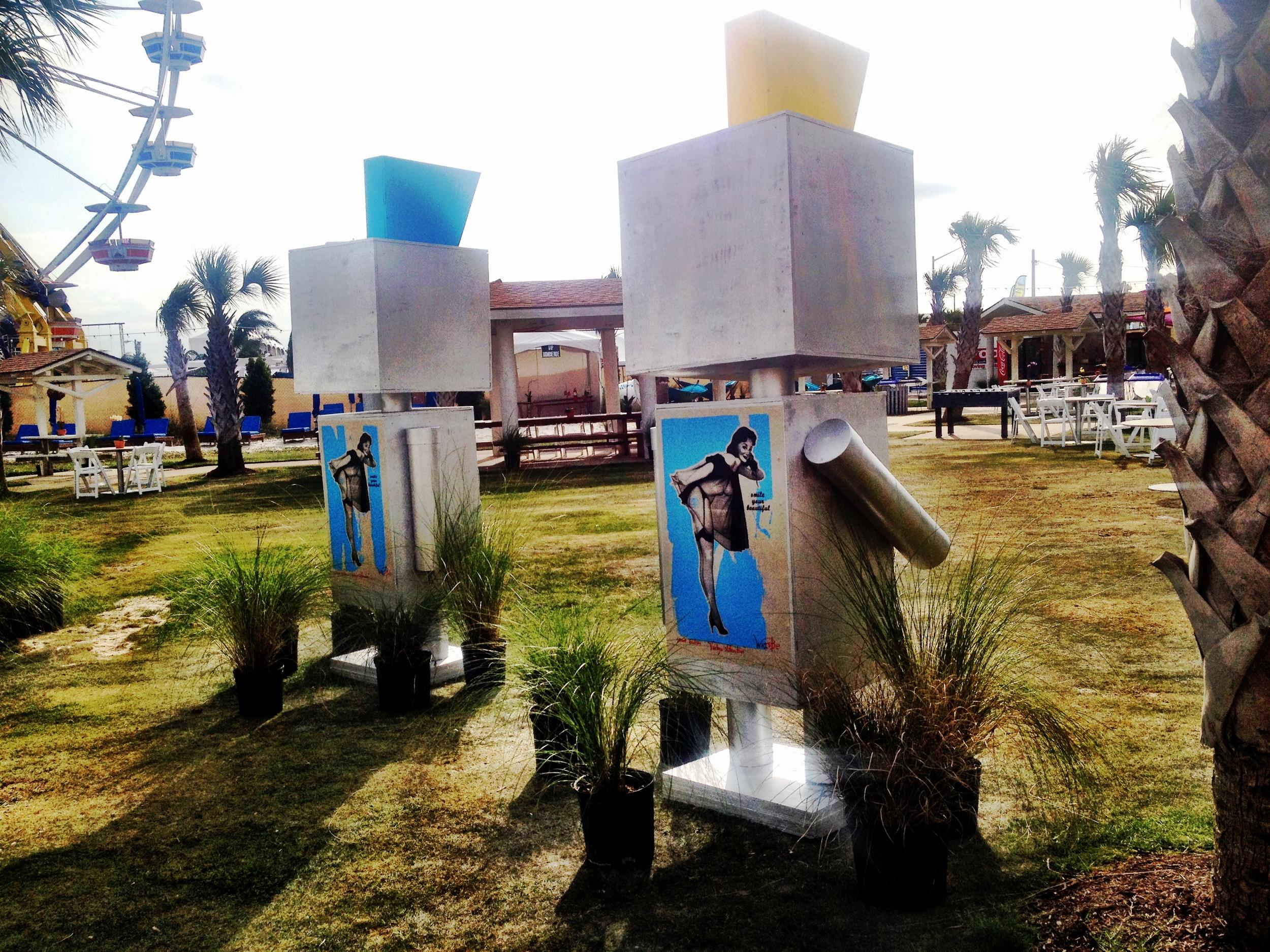 Hangout Festival Installation [Gulf Shores, Alabama]