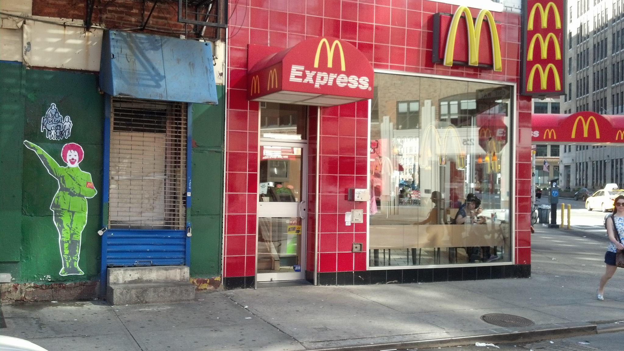 McDonalds Installation [West Village, NYC]