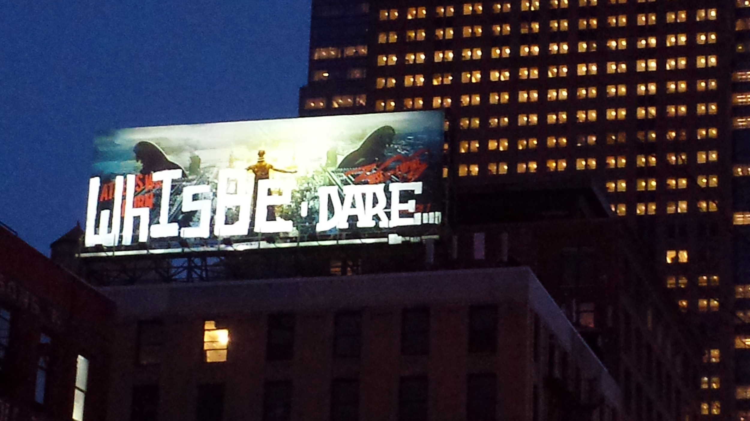 Billboard Installation [West Side Highway, NYC]