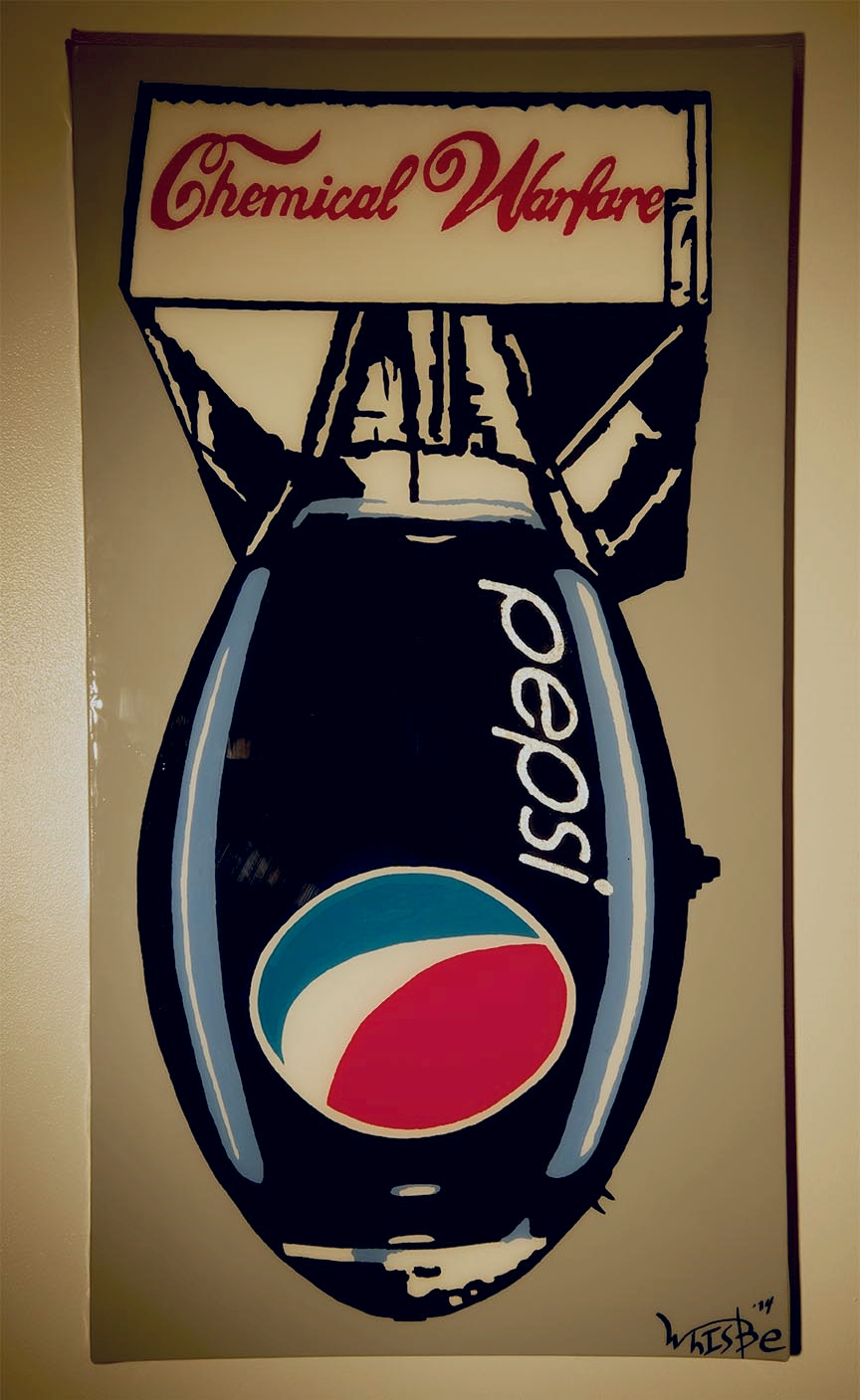 """Chemical Warfare"" Pepsi"