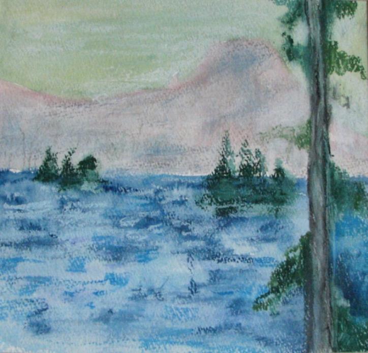 100 Mountain Lake (Ode to Avery),