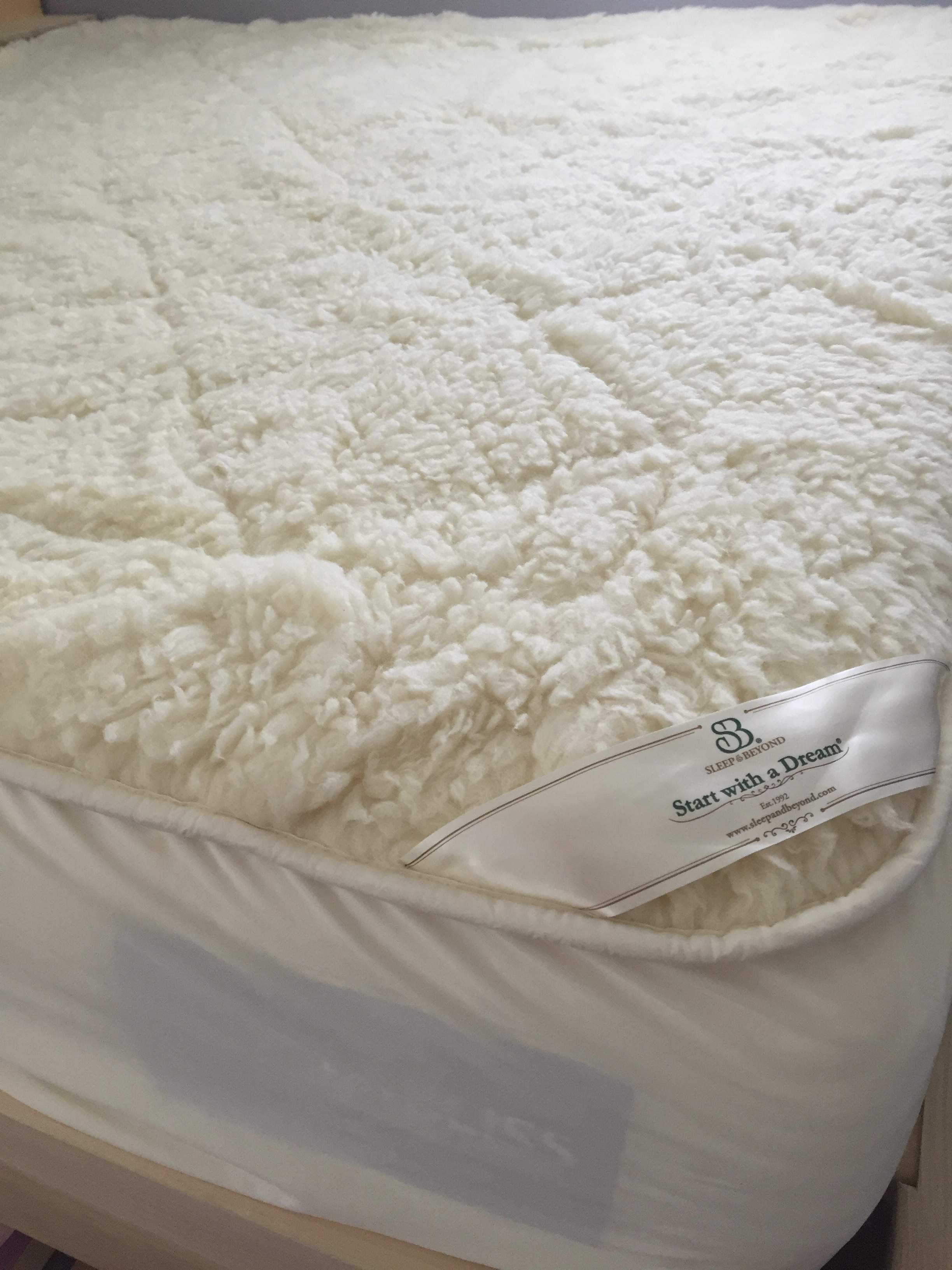 Sleep Beyond Wool Mattress Cover And Pillow Little Wholesome