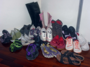 A sample of my barefoot shoe collection!