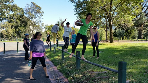 Moving our DNA in Yarra Park