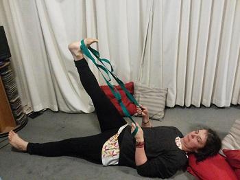 Strap Hamstring Stretch