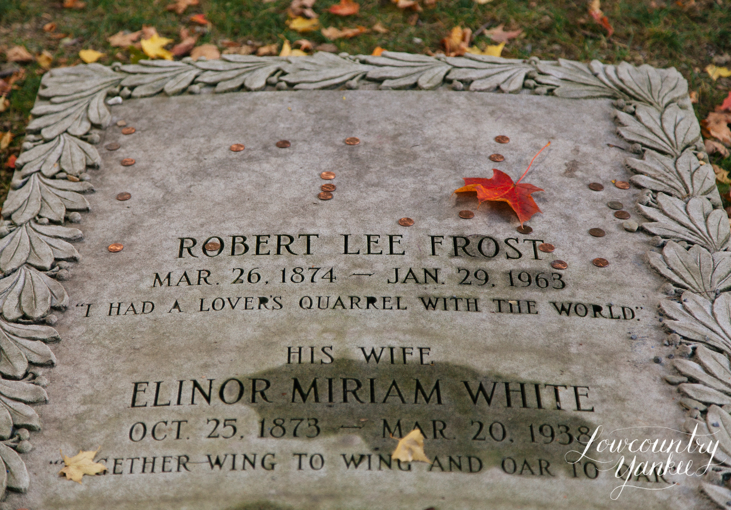 Robert Frost's final resting place