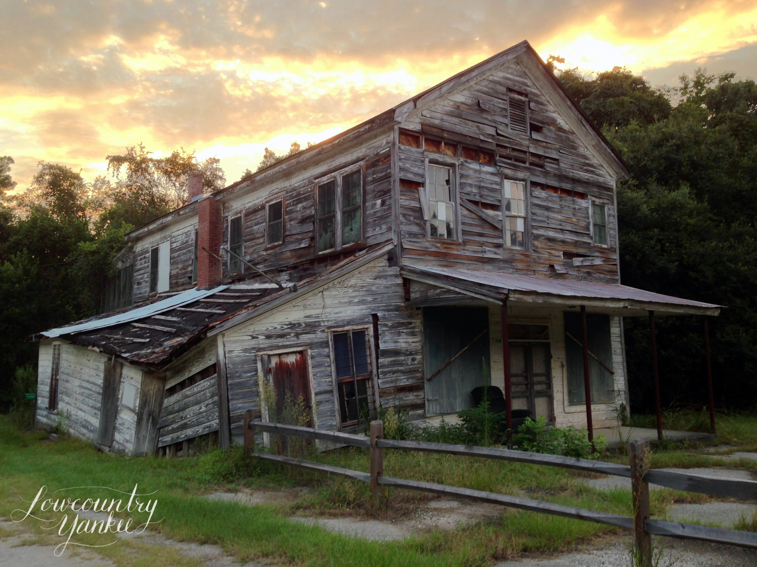 Abandoned house, Seabrook, SC