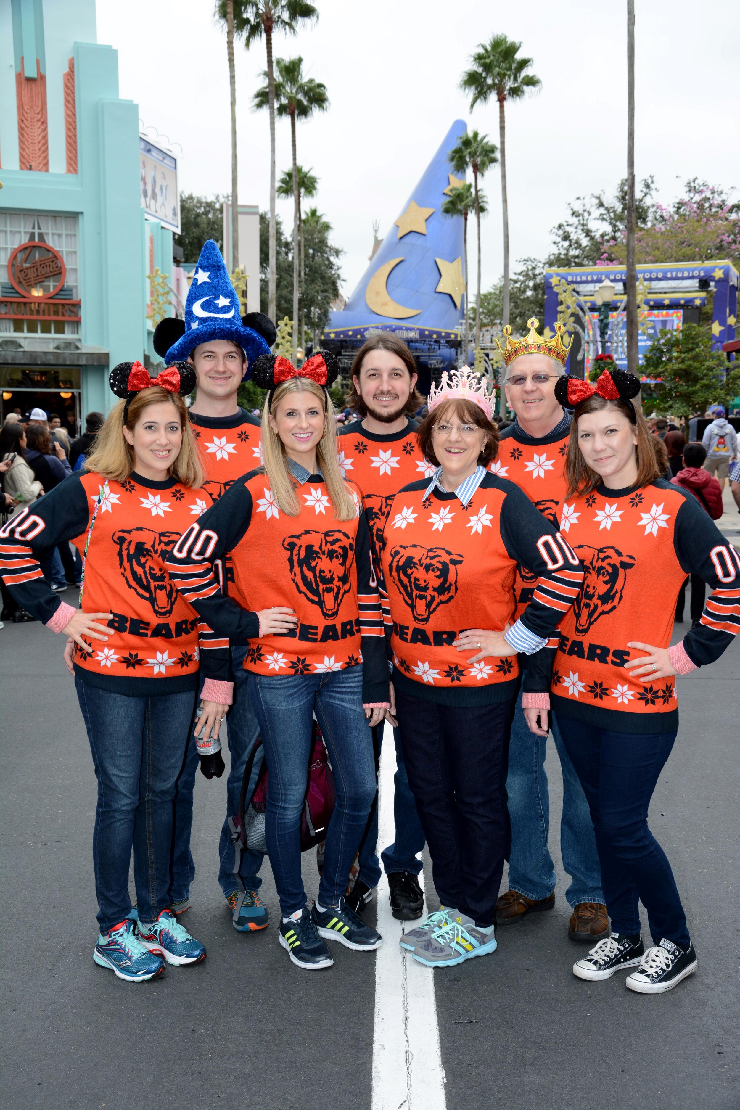 L to R: Amanda, Kevin, me, Brandon, Mom, Dad, & Jen