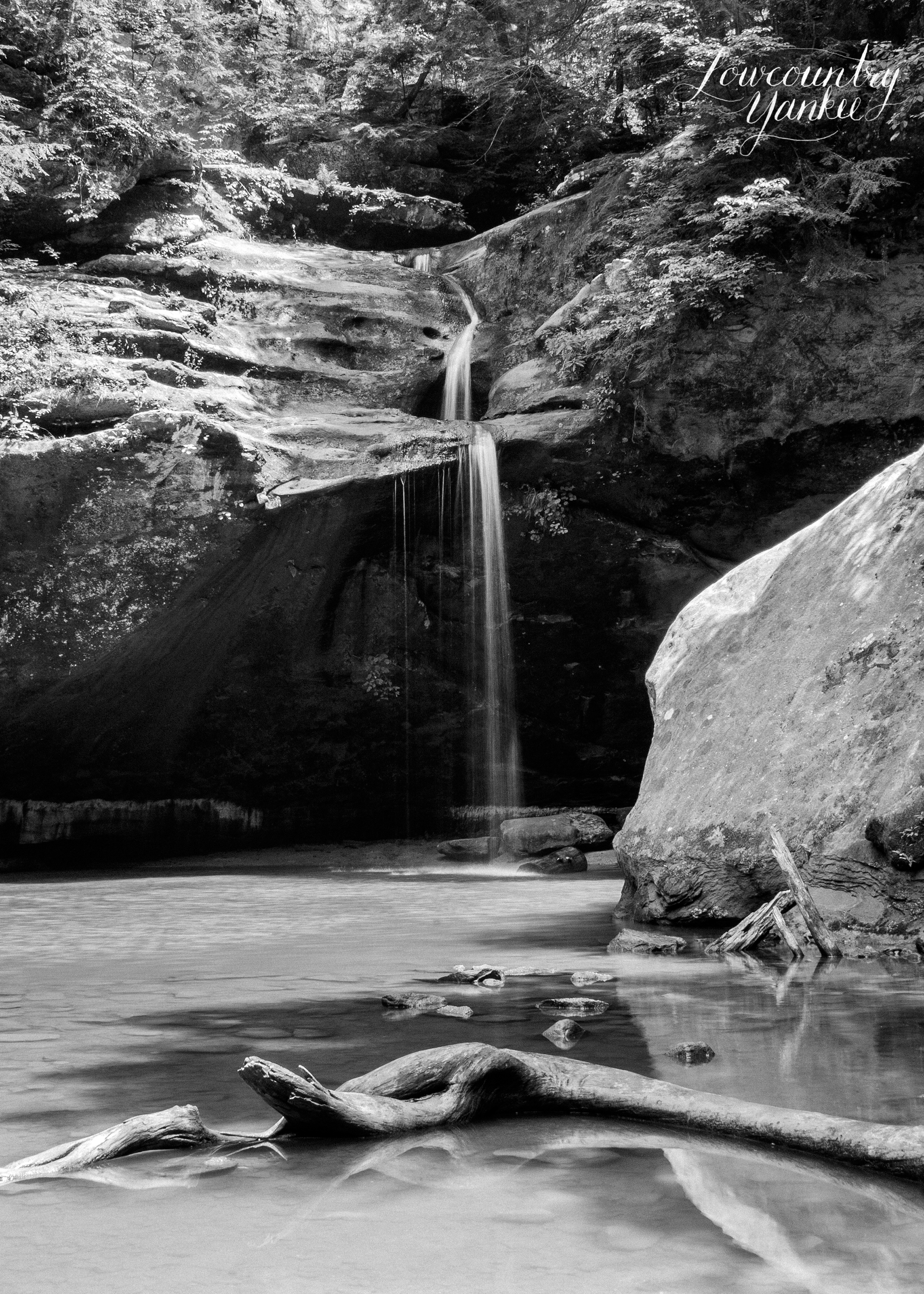 Lower Falls, Hocking Hills State Park, Ohio 2008
