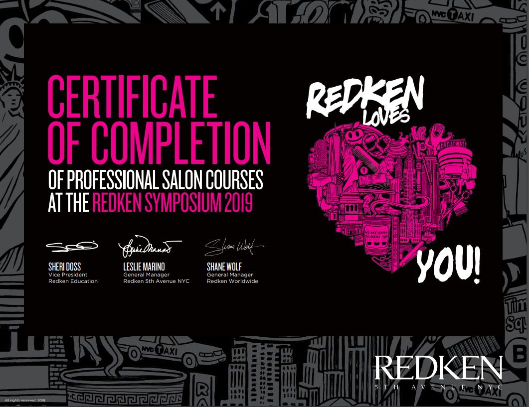 redken certificate.PNG