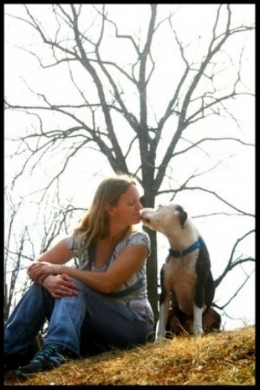 Kisses from Sampson.