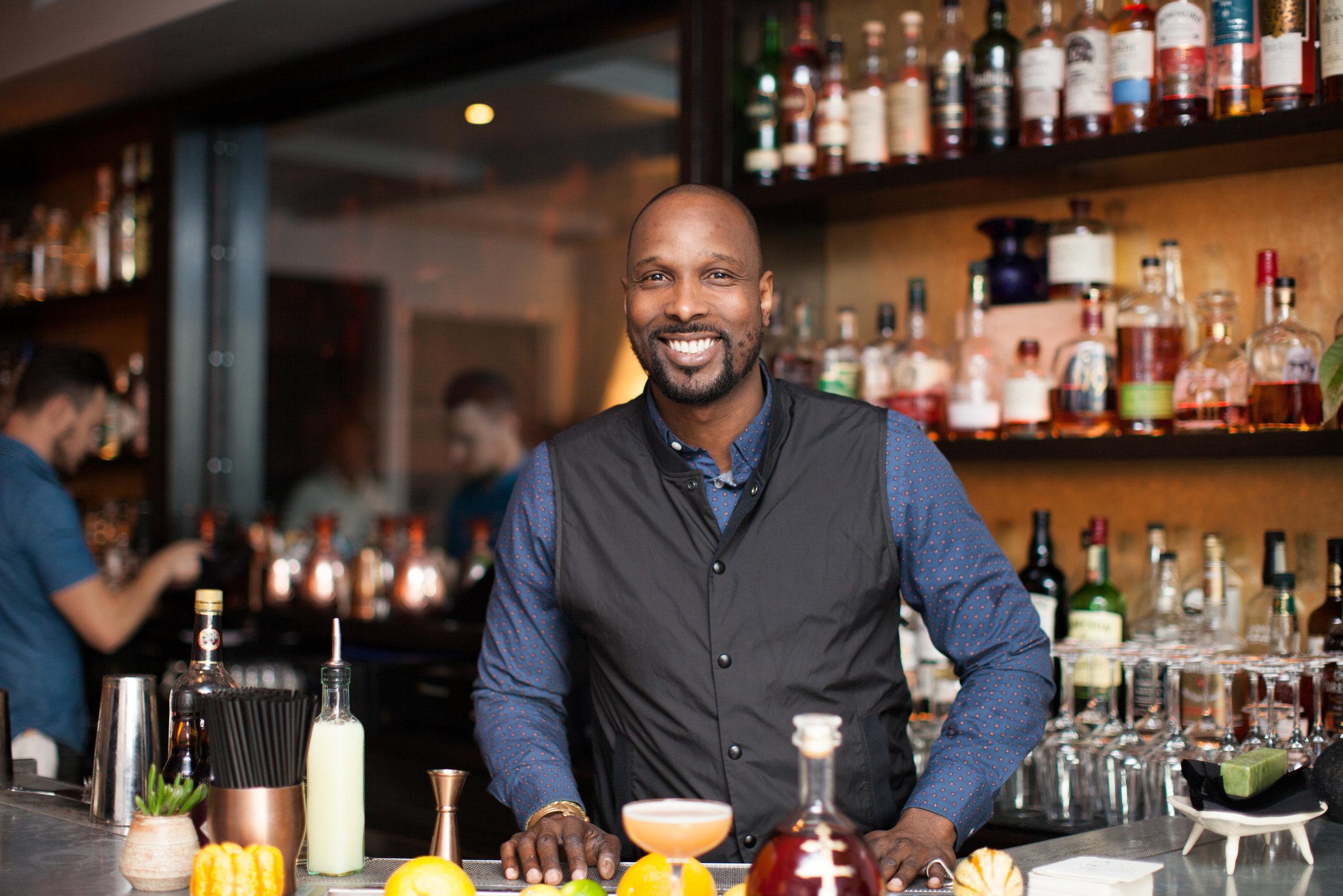 Cyllan Hicks, Bartender at Midnights